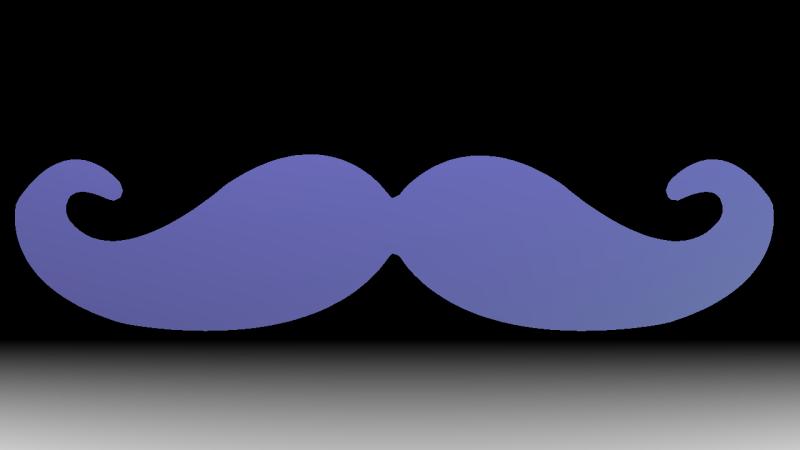 MoustacheAlphaTest