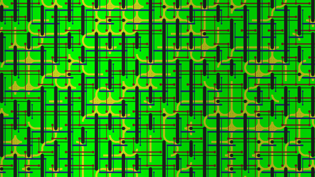 Wang tiles were invented by Hao Wang in 1961 for mathematical reasons, but they find great use in games for making tile based art which gives results